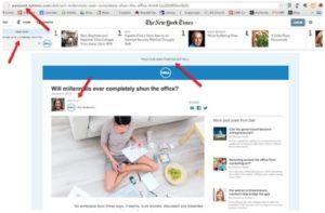 Нативная реклама Dell